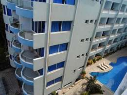 Modern 3 bedroom fully furnished beach side apartment with swimming po