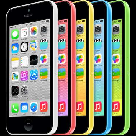 I phone 5c, single sim,16gb internal,8mp camera,4g network Nairobi CBD - image 1
