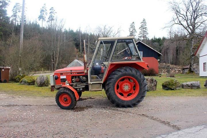 Zetor 4911 - 1982