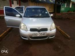 Toyota Vitz on a quick sale.