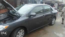 Luxury Tokunbo Toyota corolla 2009 accident free, first body