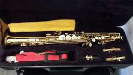 Santa Fe Straight Soprano Saxophone with Case