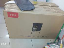 55 inch Tcl FHD smart digital TV delivery done countrywide