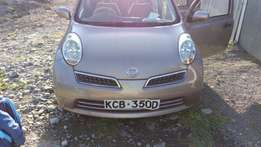 Nissan March simple words new and clean