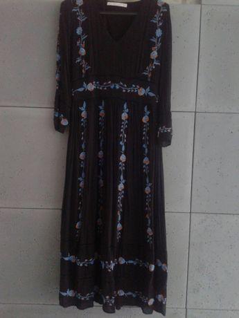 olx sukienka z haftem zara