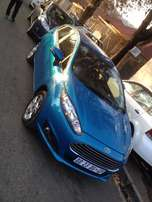 2014 ford fiesta 1.4 ecoboost blue colour auto with 24000km R188000