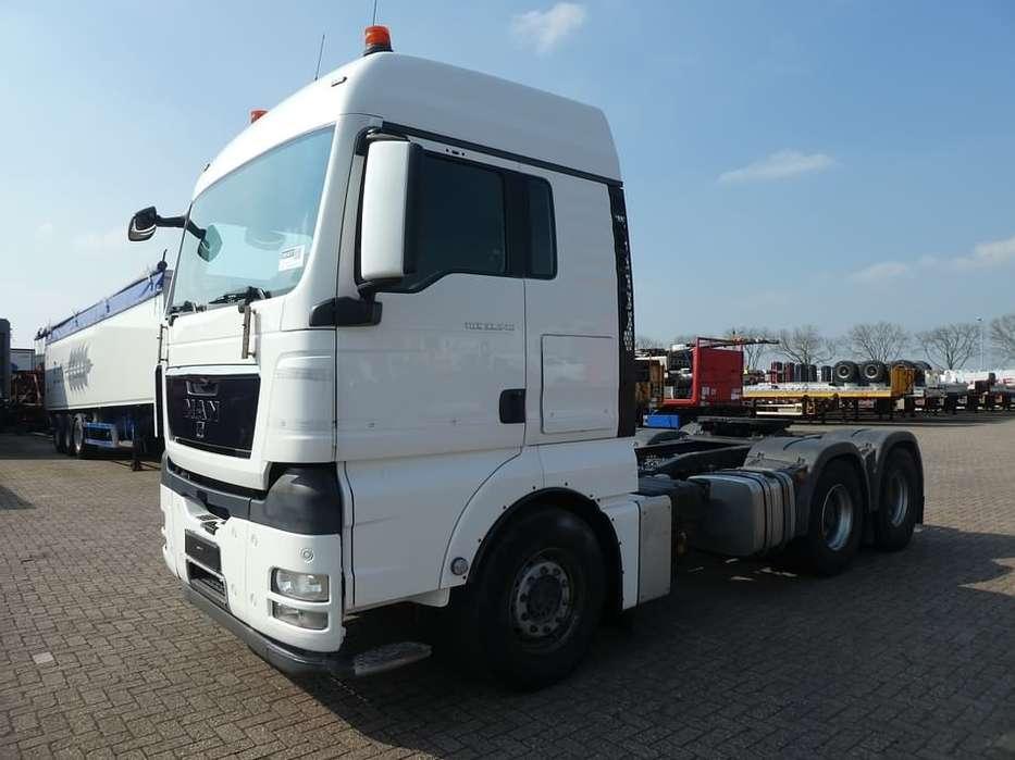 MAN 33.540 TGX 160 ton gvw,steel sp - 2011