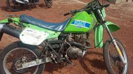 Kawasaki jungle good engine and less consumption of fuel