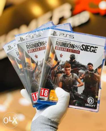 RainbowSixsiege Ps5 Game available now