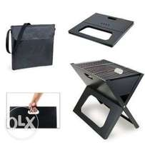 Foldable/portable charcoal grill