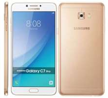 BrandNEW Samsung Galaxy C7 Pro [64GB] 4GB RAM,16mp+16mp,Free delivery