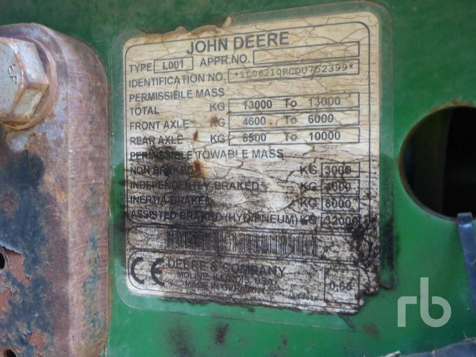 John Deere 6210R - 2013 - image 17