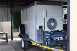 refrigerated chiller and freezer trailers.