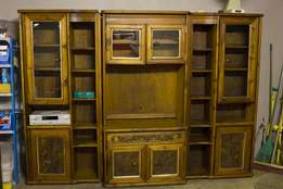Solid Wood 3 Piece Tv Cabinet