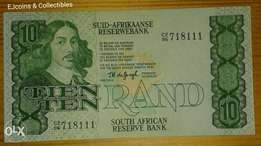 Great 1970's S.A R10 note