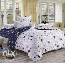 Duvet inclusive of bed sheet and a pair of pillow cases