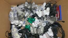 Original ps2 grey and black controllers