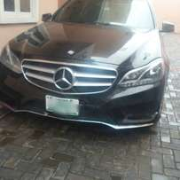 2Months Registered 2013 Mercedes-Benz E350 4Matic Full Options