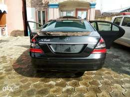 Fairly used mercedes benz s class, very clean and sharp.