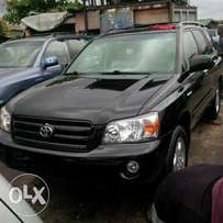 Black Toyota highlander for sale