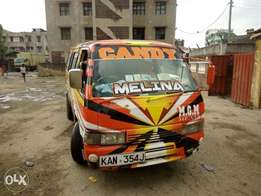 Nissan Matatu on the Road- Working Perfectly & Efficiently