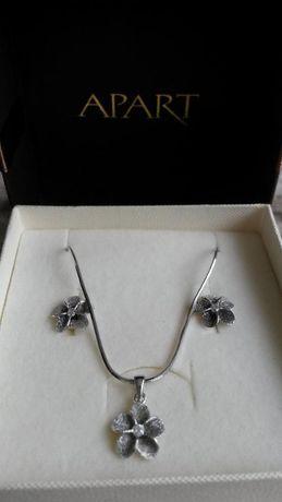 c9ddae41b1a0 Apart komplet biżuterii srebrnej Warszawa Ursynów • OLX.pl