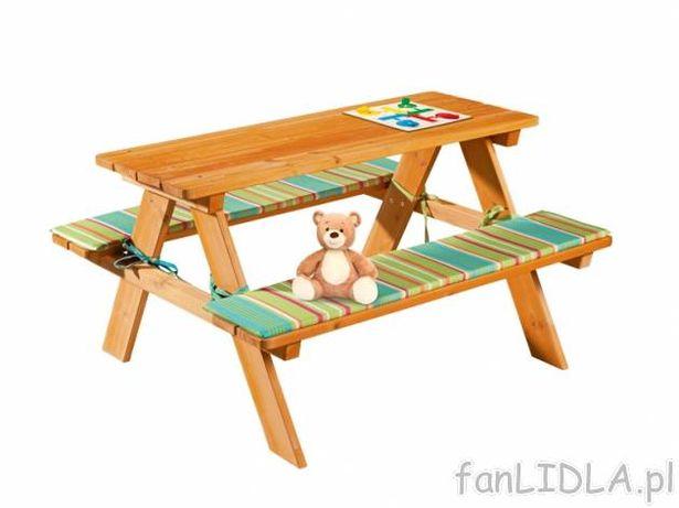 ławka ławeczka Do Ogrodu Dla Dzieci Drewniana Dziecięca
