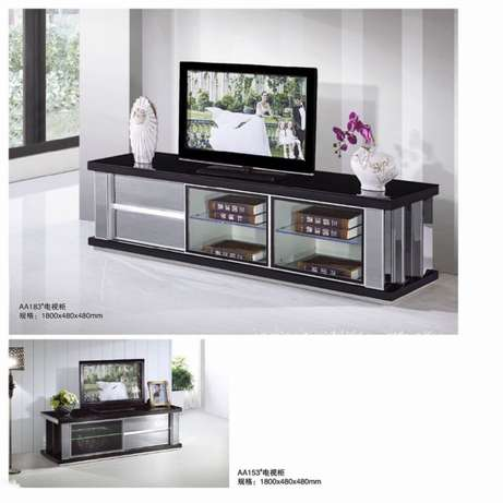 Glass paint TV cabinet and coffee table Melville - image 2