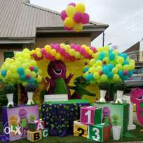 Theme party for kiddies event