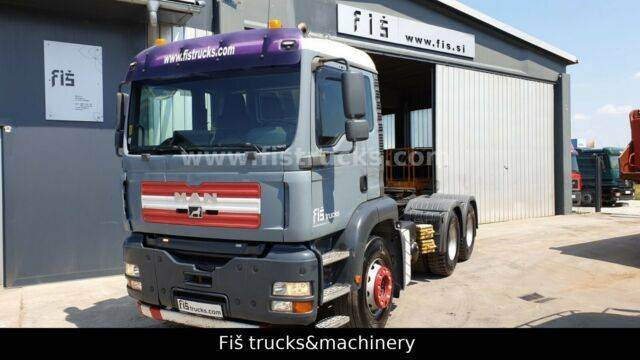 MAN TGA 33.390 6x4 tractor unit - SPRING - 2019
