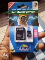 ZEBIS Memory Card 8GB Brand New