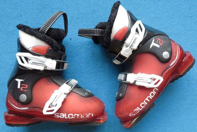 Buty narciarskie SALOMON T2 18,0 29,0 dziecięce uzywane