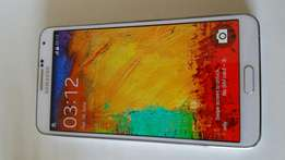 Samsung galaxy note 3 with accessories