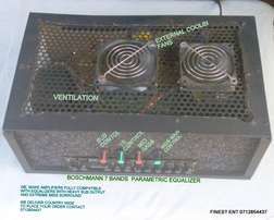 advanced amplifier fitted with boschmann equalizer