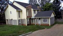 3brmd all ensuit maissonette with an SQ to let in ngong