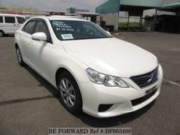 Toyota mark x from Beforward Japan