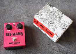 Way HUGE - Red Llama - Overdrive Guitar Effects Pedal with Box!