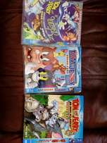 Kids DVDs Tom and Jerry set of 3