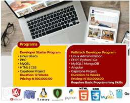 Learn to build Apps with Linux, PHP, MySQL, MongoDB,Angular etc
