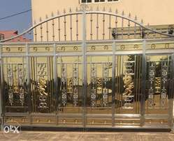 Presidency gold and silver diamonds Gate in house