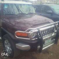 Nigerian-Used Toyota FJ-Cruiser, 2007, Very OK