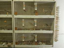 Double breeder cages
