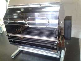Charcoal spit braai Ideal for camping or a gift
