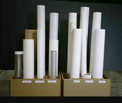 Rolls of large Format printing materials