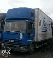 Tokunbo Eurocargo iveco container truck