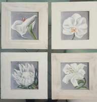 Beautiful flower paintings direct from the artist
