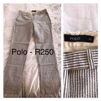 Size 6 ladies pants (only have size 6 - no enquires for other sizes)