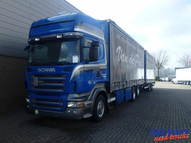 Scania R500 V8 Euro 5 6x2 + VanHool Trailer - 2007