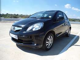 2013 Honda Brio 1.2 manual hatchback fuel saver bargain R60 000
