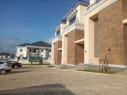New service 4bedroom duplex with BQ and swimming pool to let at Guzape